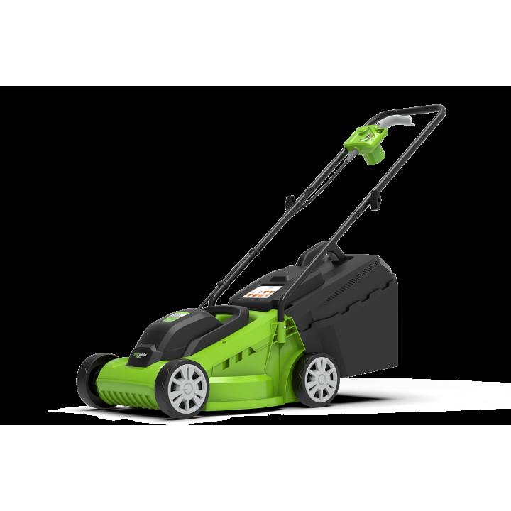 Газонокосилка электрическая GreenWorks 1200W GLM1232