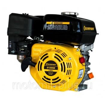Двигатель бензиновый Champion G120HK 4 л.с. для культиватора Крот