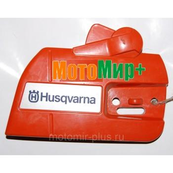 Крышка тормоза (шины) бензопилы Husqvarna 340 / 350 / 357 оригинал