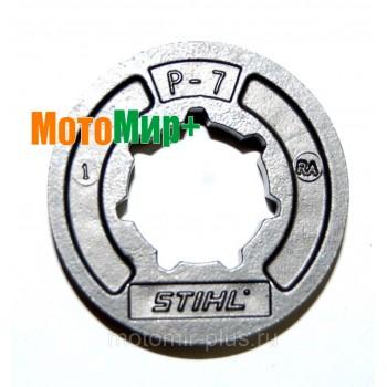 Венец бензопилы (кольцевая цепная звездочка) Stihl Picco 7 зубов 3/8 шаг бензопилы Stihl MS 250
