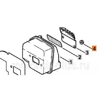 Гайка глушителя M5 Stihl MS 180 оригинал