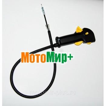 Рукоятка управления мотокосы Champion T 266 / T 334 - 517 комплект