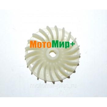 Крыльчатка ротора электрокосы Champion ET 1004A / ET 1003A / ET 1200A нового образца