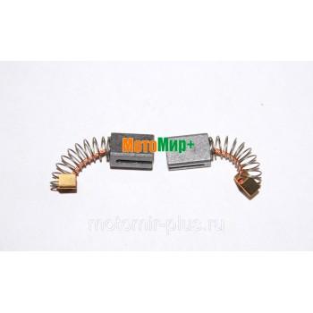 Щетки электродвигателя электрокосы Champion ET1003A / 1004A /1200A (пара)
