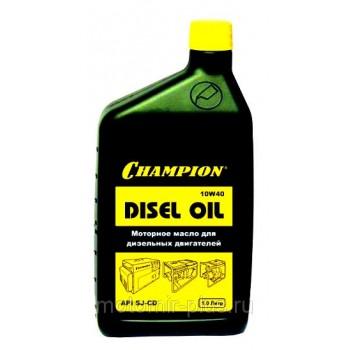 Масло моторное для дизельных двигателей Champion минеральное, 1 л