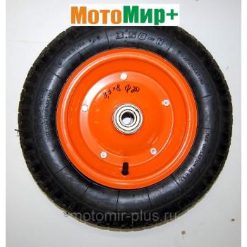 Колесо тачки 3,5*8 диаметр подшипника 20 мм
