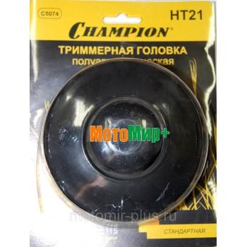 Косильная головка Champion HT 21 (гайка М10*1.25 левая) Стандартная (Т233-Т517, ET1004A,ET1200A)