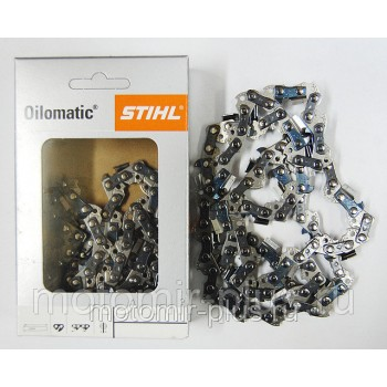 Цепь Stihl 16` 57 звеньев шаг цепи 3/8 1,3 мм 63 PS для бензопилы Champion 420, Интерскол ПЦ-16 2000Т