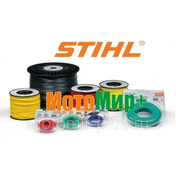 Леска Stihl квадратная 3 мм 55 м желтая