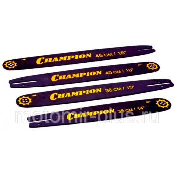 "Шина Champion 72 звена 325"" шаг 1,3 посадка для бензопилы Champion 250, Champion 55"