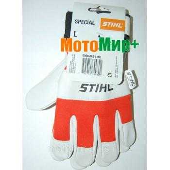 Рабочие перчатки Stihl SPECIAL из козьей кожи (00008841180)