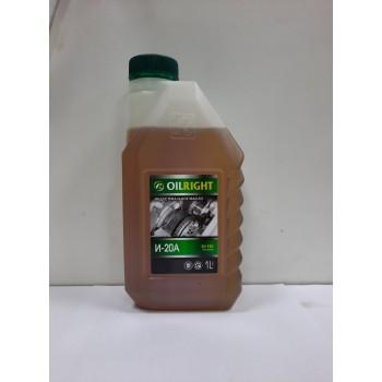 Индустриальное масло Oilright И-20А 1л
