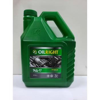 Трансмиссионное масло Oilright (ТАД-17) SAE 80W-90 1л